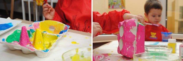 knutselen en schilderen