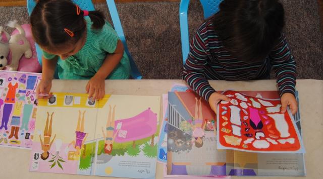 usborne sticker boeken voor meisjes