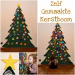 Welkom aan onze zelfgemaakte kindvriendelijke kerstboom!