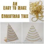 Eenvoudig knutselen met kinderen: maak je eigen kerstboom in minder dan 10 minuten