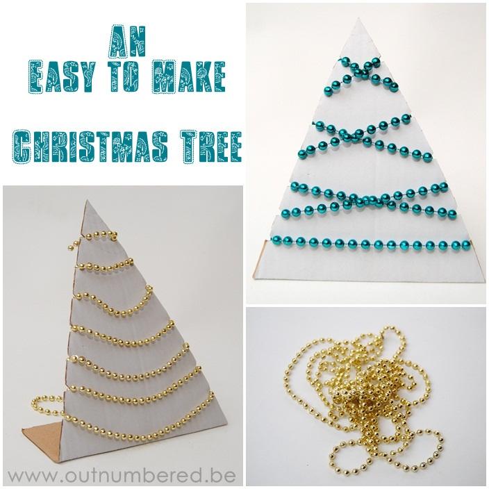 an easy to make christmas tree