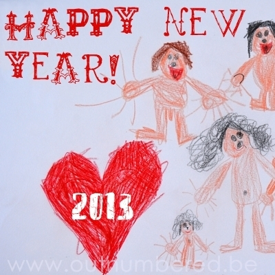 happy 2013 from the outnumbered family