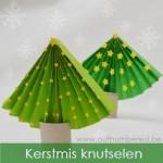 Maak je eigen papieren kerstboom - Eenvoudig knutselen voor kerstmis