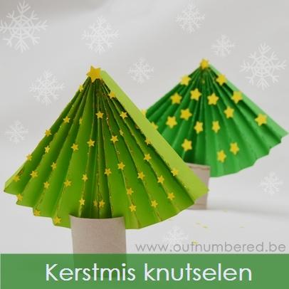 Maak Je Eigen Papieren Kerstboom Eenvoudig Knutselen Voor Kerstmis