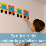 Verras je kinderen met een verjaardag aftelkalender